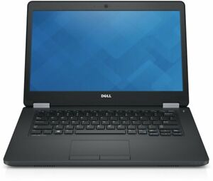 """Dell Latitude E5470 Laptop 14"""" Intel i7-6820HQ 2.7GHz 8GB 256GB SSD Win 10 Pro"""