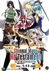 DVD-Shinmai-Maou-no-Testament-Tv1-13end-The-Testament-of-Sister-New-Devil