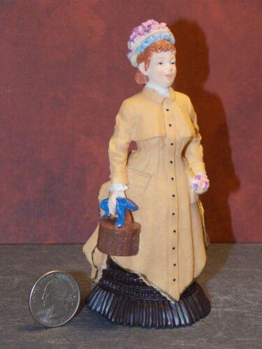 Dollhouse Miniature Doll Woman Lady Figurine 1:12 inch scale N35 Dollys Gallery