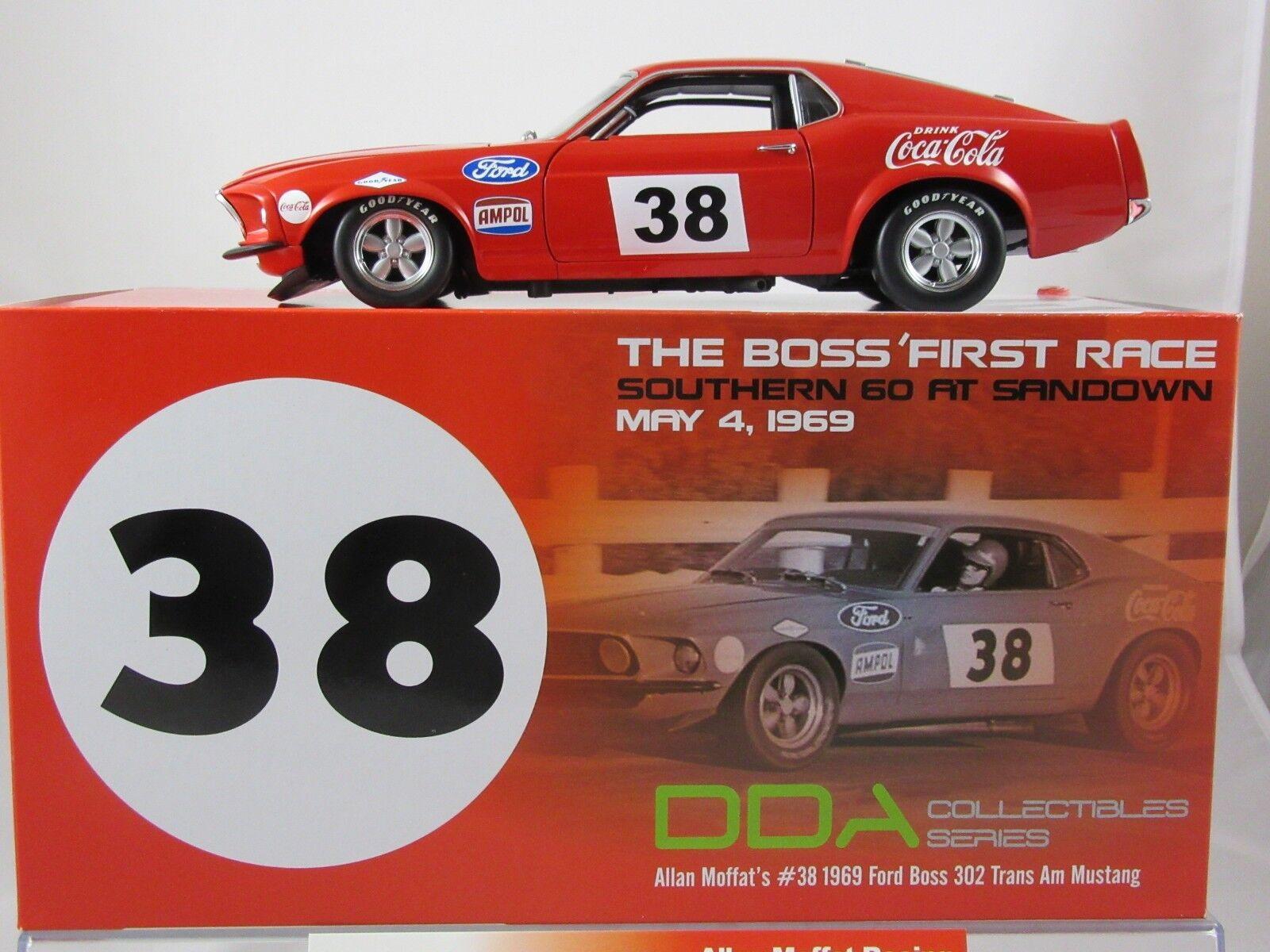 Acme 1969 ford boss 302 trans am, mustang   38 allan moffat - dda exklusive a18018