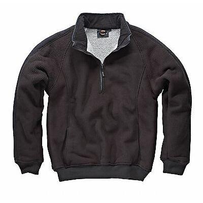 NEW Dickies Eisenhower Fleece Pullover Jumper Jacket Grey Or Green FREE P&P