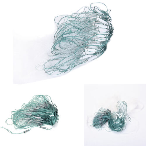20m 3 Layers Monofilament Gill Fishing Net with Float Fish Trap Rede De PescYNFK