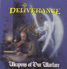 DELIVERANCE - WEAPONS OF OUR WARFARE (*CD, 1990, Intense) Orig Issue Xian Thrash
