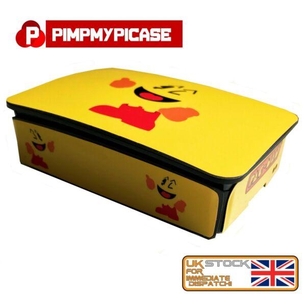 Raspberry Pi 3 (skin Only) Pac-man (use Official Raspberry Pi 3 Case) Retropie