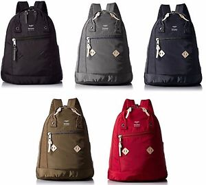 100% Authentic! Anello AT-B1623 Nylon Rucksack Backpack 5 Color ...