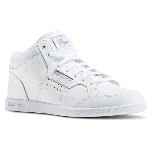 Damenschuhe Leder Reebok Classic Leder Damenschuhe SPP Weiß/Lilac AR1984 Größe: UK 8.5 Last Pair 4c1c98