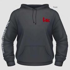 Heckler & Koch GRAY Hoodie Logo Sweatshirt HK45 P7 MR556 VP9 VP40 P30 G36 LARGE