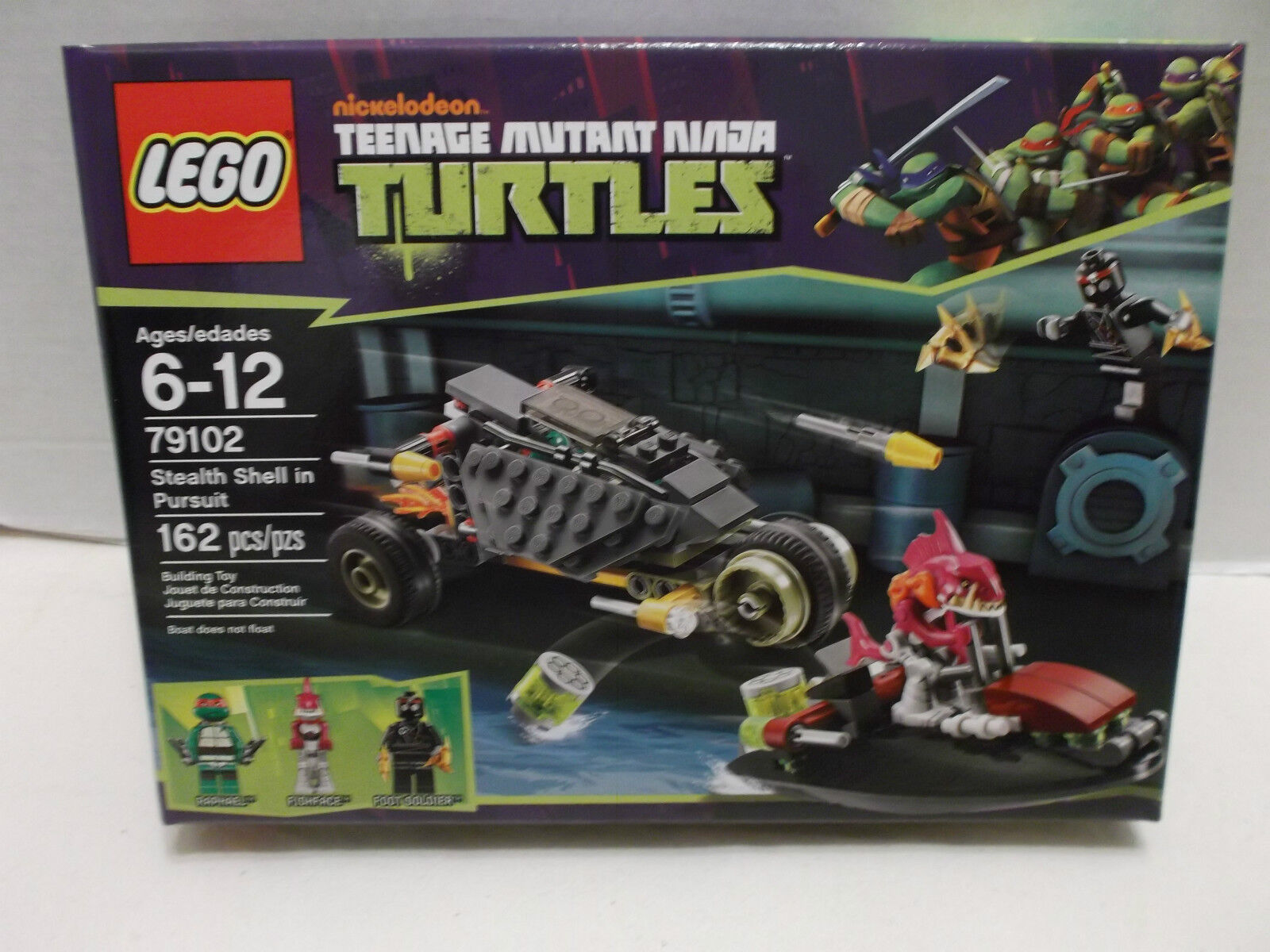 Lego Teenage Mutant Ninja Turtles Stealth Shell In Pursuit NIB 2013