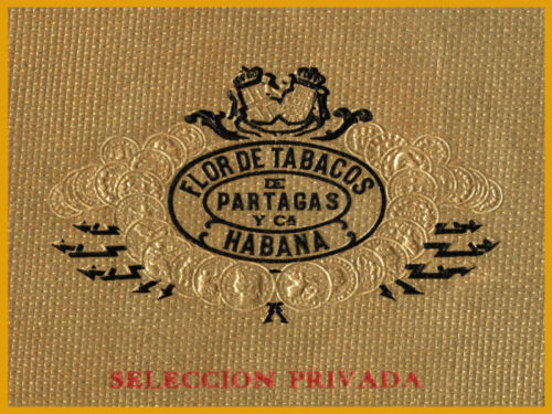 "1352.Cuban Smokes Interior Design Cigar Label poster/""Partagas/""Bar art Decor"