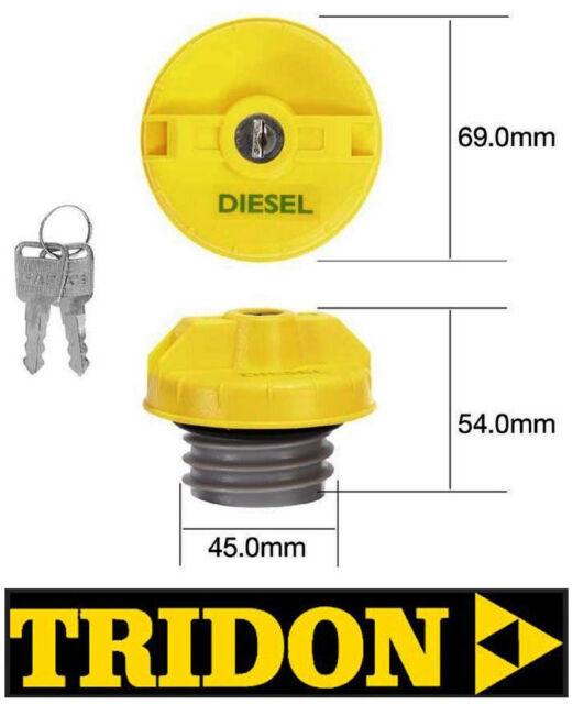 Tridon Locking Fuel Cap -Suitable For Toyota Hilux KUN26R Diesel Turbo TFL234D