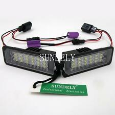 18-LED LICENSE PLATE LIGHTS FOR PORSCHE BOXSTER CAYMAN 911 CARRERA CAYENNE