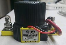 350 Lot Of 3 Gigavac GXNC14CA  Normally Closed Contactor 24 Vdc Coil Amps New
