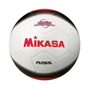 Mikasa Sports White Black Red Futsal Adult Size 4 Indoor Soccer Ball ... 246283c1ad0