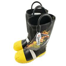 Thorogood 807 6003 Felt Insulated Rubber Firefighting Boots Steel Toe Mens Sz 7