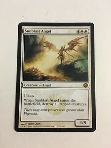 Excellent+ Sunblast Angel ~ Scars of Mirrodin Magic MTG