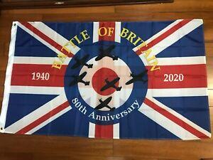 Battle-Of-Britain-80th-Anniversary-Flag-Spitfire-World-War-2-II-RAF-Veterans