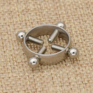 1Pair Fashion Stainless Steel Nest Nipple Shield Hollow Ring Body Jewelry Supply