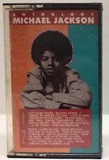 """Anthology "" Michael Jackson Cassette Tape 5402MC"