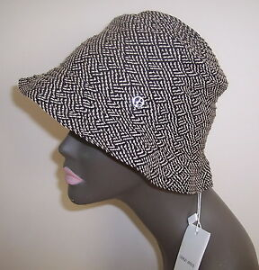 Image is loading New-GIORGIO-ARMANI-Logo-Bucket-Hat-Italy-58 b69009b0cd9
