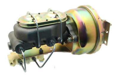 "1955-57 GM Fullsize Tri-Five Cars Chrome 7/"" Dual Power Brake Booster Conversion"