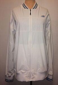 61f8c4cb8ad6a NEW BALANCE (NB DRY) Retro Track Tennis Jacket - Full Zip, White ...