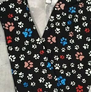 f2d93d847bd253 LuLaRoe TC Paw Print USA American Summer Hot Unicorn HTF Cat Dog | eBay