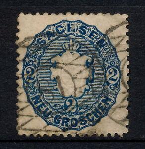 YYAG-479-Sachsen-1863-CANCELL-81-Mich-17-Scott-18-Saxony-Germany