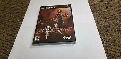 Bloodrayne 2 Sony Playstation 2 2004 Blood Rayne 2 New Ps2