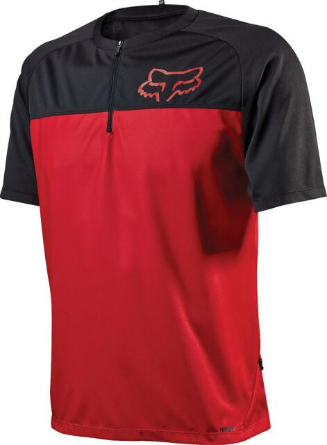 Fox 2015 16 Men s Ranger Short Sleeve Bike Jersey - 12258 M Red  40858a65b