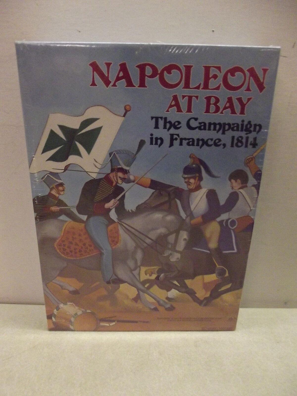 Vintage Avalon Hill Librero Juego De Guerra Napoleón en la bahía Nuevo Sellado