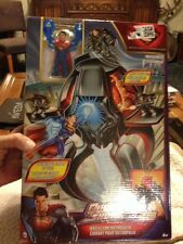 SUPERMAN, QUICKSHOTS BATTLE FOR METROPOLIS SPINNING PLAYSET, NEW FAST SHIP-OUT
