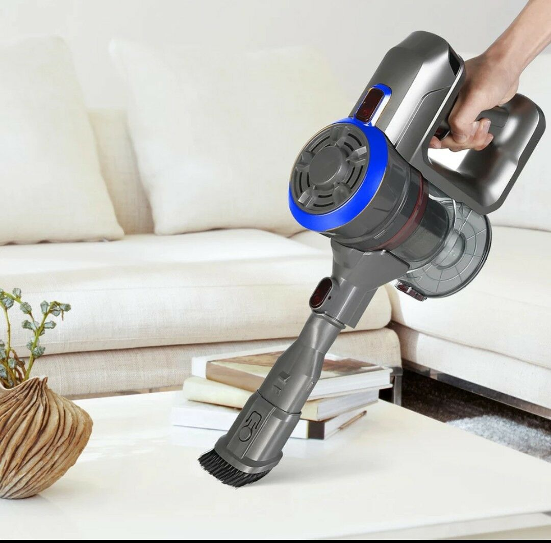 D18 Predable 2 In 1 Handheld Wireless Vacuum Cleaner Cyclone Filter 8500 Pa Stro