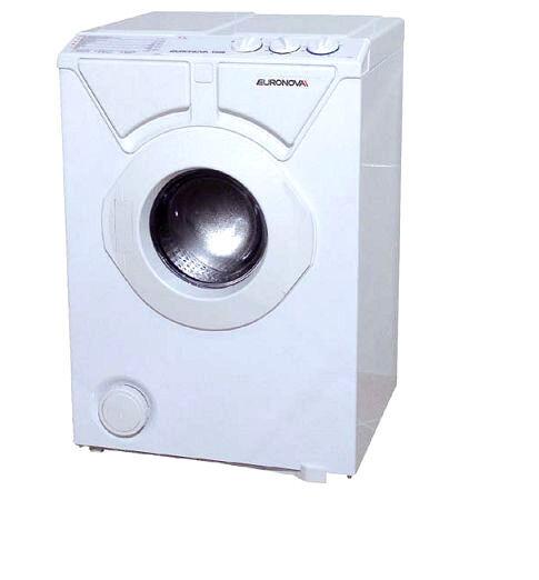 Mini kleine Waschmaschine Euronova WEISS rot Frontlader ...