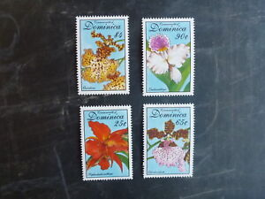 1994-DOMINICA-ORCHID-SET-OF-4-MINT-STAMPS-MNH