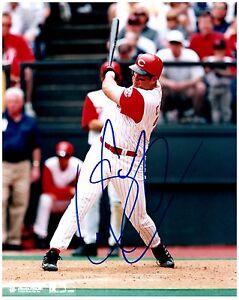 Cincinnati Reds SEAN CASEY Signed Autographed 8x10 Pic. D