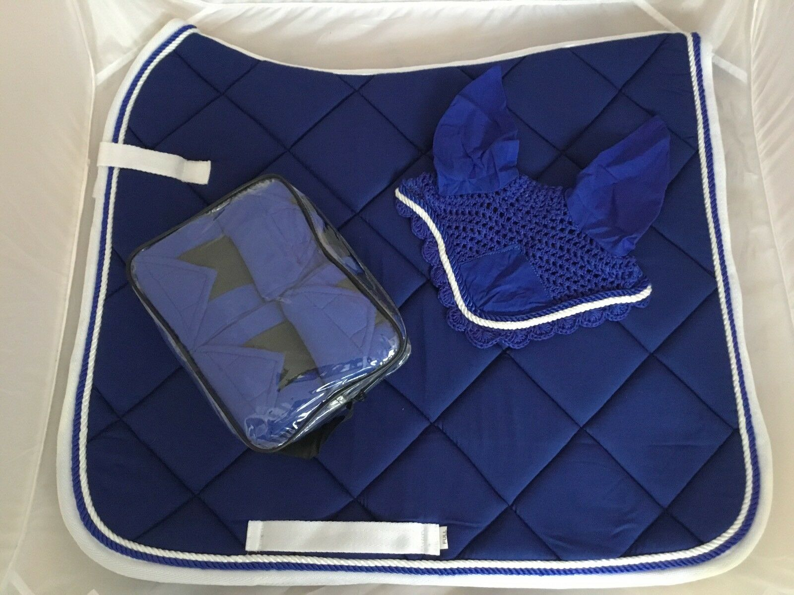 Pinnacle Royal Dressage Trio Set Royal Pinnacle Blau/Weiß Größe FULL 3c93de