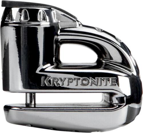 Kryptonite Keeper 5-S2 Motorcycle Disc Brake Lock Black Chrome