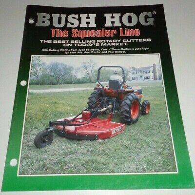 Bush Hog Sq720 Manual