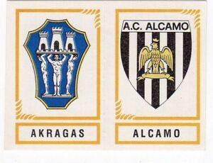 figurina CALCIATORI PANINI 1982/83 NEW numero 592 AKRAGAS ALCAMO - Italia - L'oggetto può essere restituito - Italia