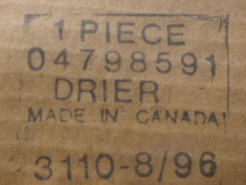 NOS OEM 04798591 4798591 A//C Receiver Drier Mopar Dodge Free US Ship ~