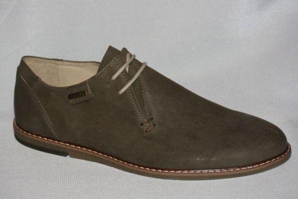 Echtleder Herrenschuhe creme / cappuccino bequeme Schuhe HB8817