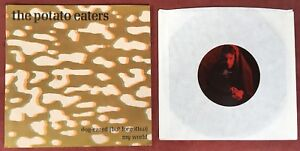 THE-POTATO-EATERS-PS-45-rpm-7-034-EP-VINYL-RECORD-DOG-EARED-BUT-FORGOTTEN-MY-WORLD