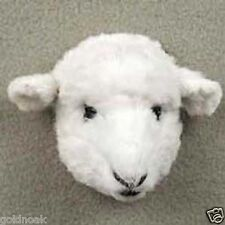 WHITE SHEEP! Collect Fur Refrigerator Magnets (Handcrafted & Hand painted)