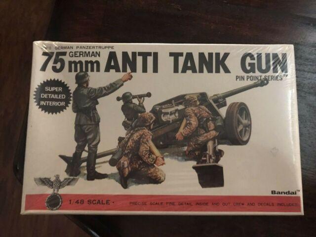 Resin Model 1477 Peddinghaus 1//48 7.5cm PaK 40 L//46 German Anti-tank Gun WWII
