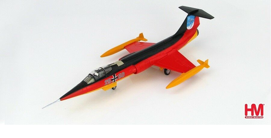 Hobbymaster ha1040 - 1   72 f-104g starfighter - 25. anniv.jg-34 luftwaffe 1984