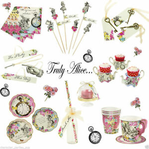 Truly-Alice-In-Wonderland-Mad-Hatters-Tea-Party-Supplies-Vintage-Wedding-Hens