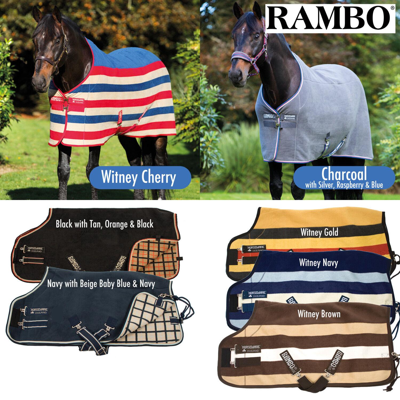 Horseware Rambo Deluxe Fleece Cooler Rug