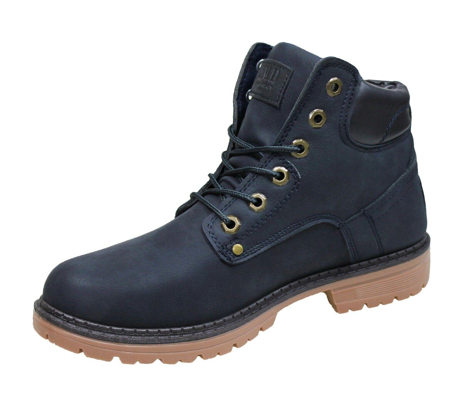 Stiefel Herren Diamond Schuhe Blau Turnschuhe Winter mit Pelz Intern