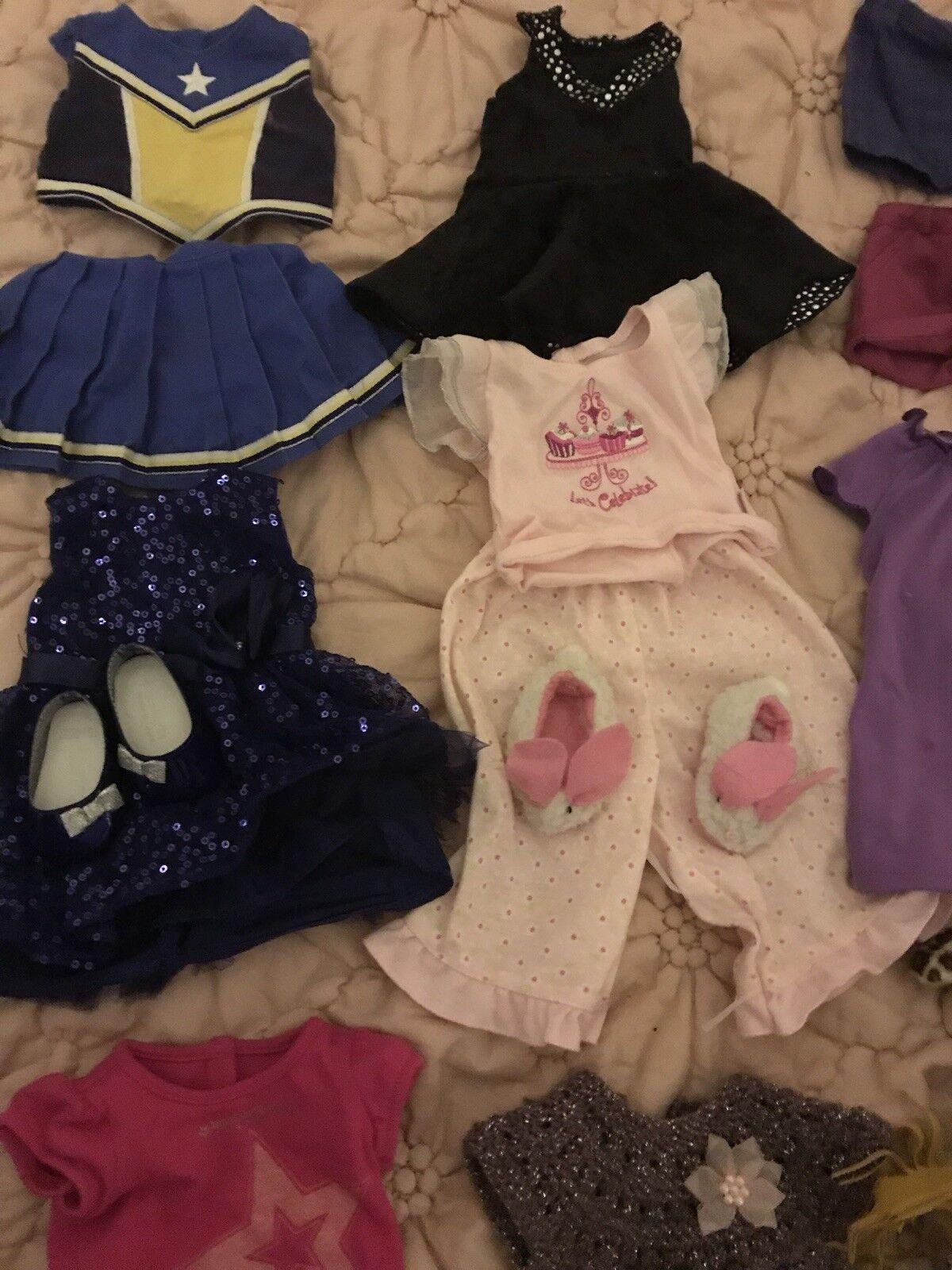 American Girl Doll Lote de ropa y accesorios accesorios accesorios de más de 20 un.  punto de venta barato