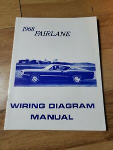 1968 ford fairlane wiring diagram manual mp 139 | ebay  ebay
